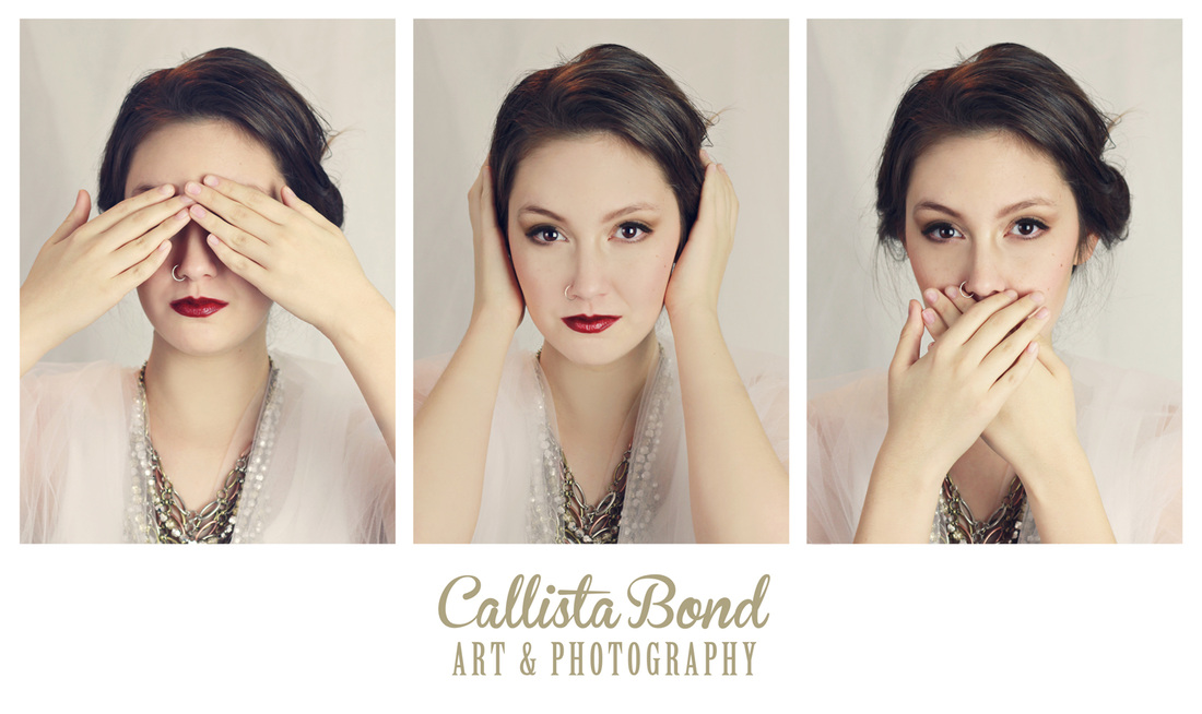 Callista Bond Art & Photography - See, Hear, Speak No Evil