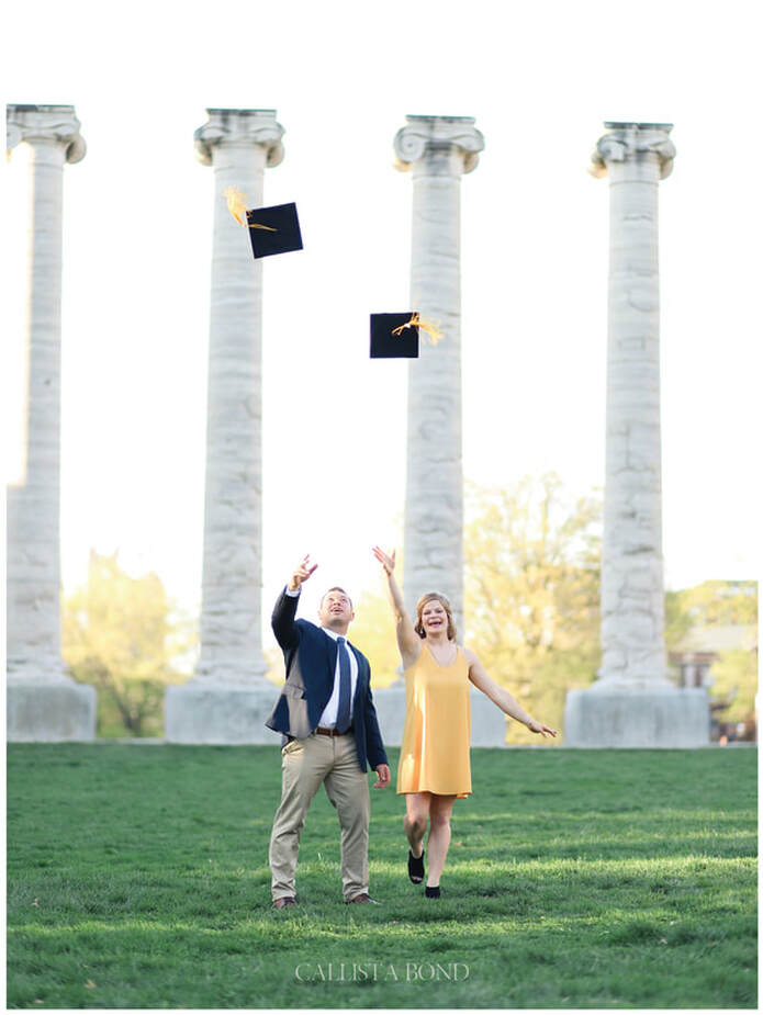 Callista Bond Photography, Missouri, Kansas, Senior Portrait Photographer, Graduation, Graduates, Wedding Photographer, Portraits, Couples, Engagements, Mizzou, University of Missouri, Jesse Hall, Columbia, Kansas City